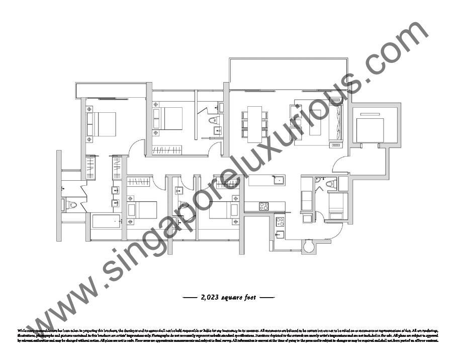 Ardmore Ii Site Floor Plan Singapore Luxurious Property
