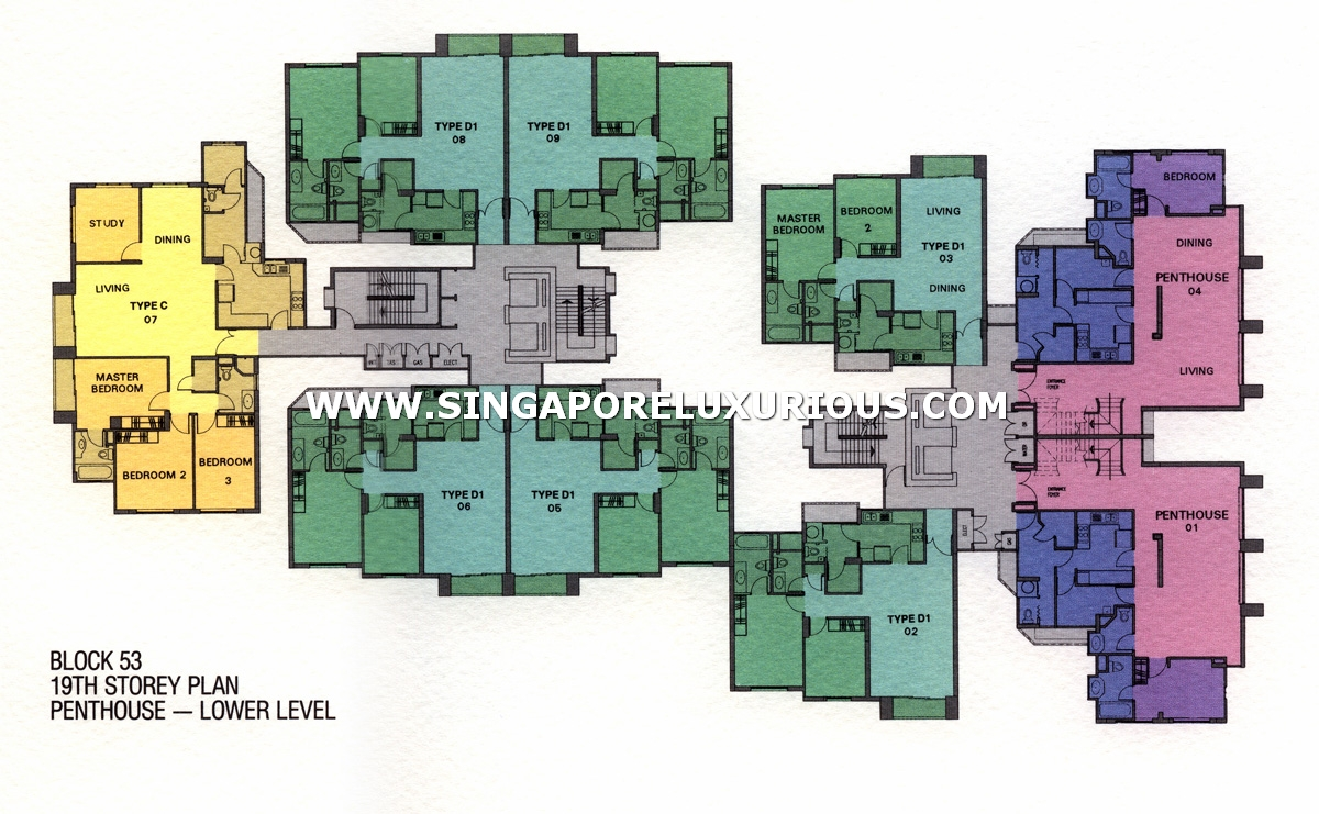 Spring Grove Site Amp Floor Plan Singapore Luxurious Property