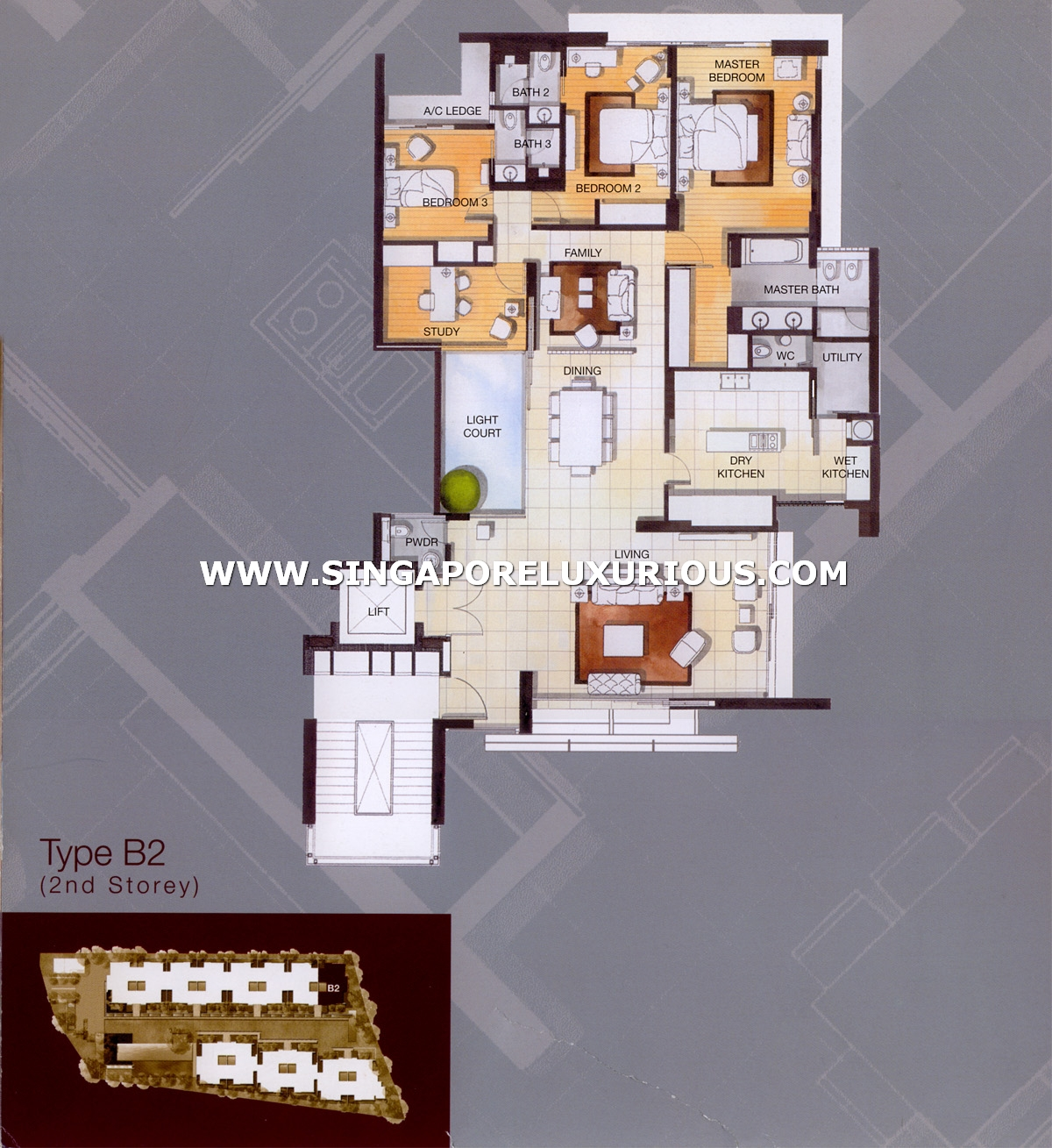 The Ladyhill Site Amp Floor Plan Singapore Luxurious Property