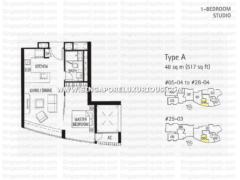 St Regis Residences Singapore Floor Plan | Tribeca By The Waterfront Site Floor Plan Singapore Luxurious