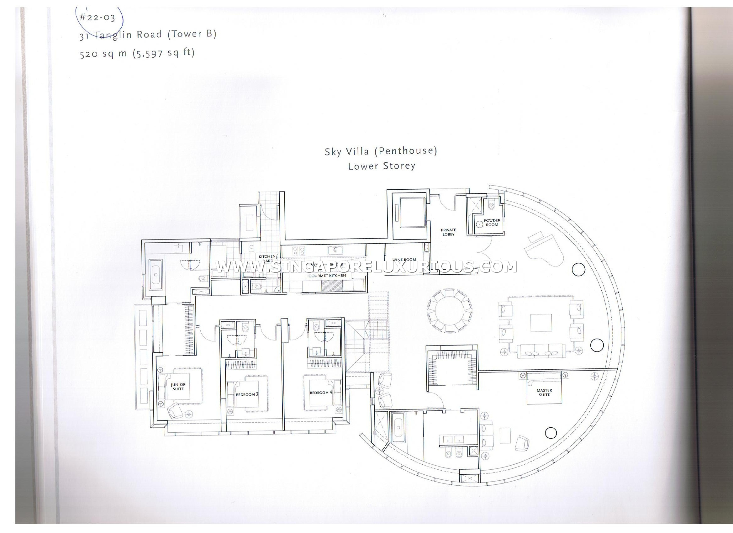 Regis Residences Site Amp Floor Plan Singapore Luxurious Property