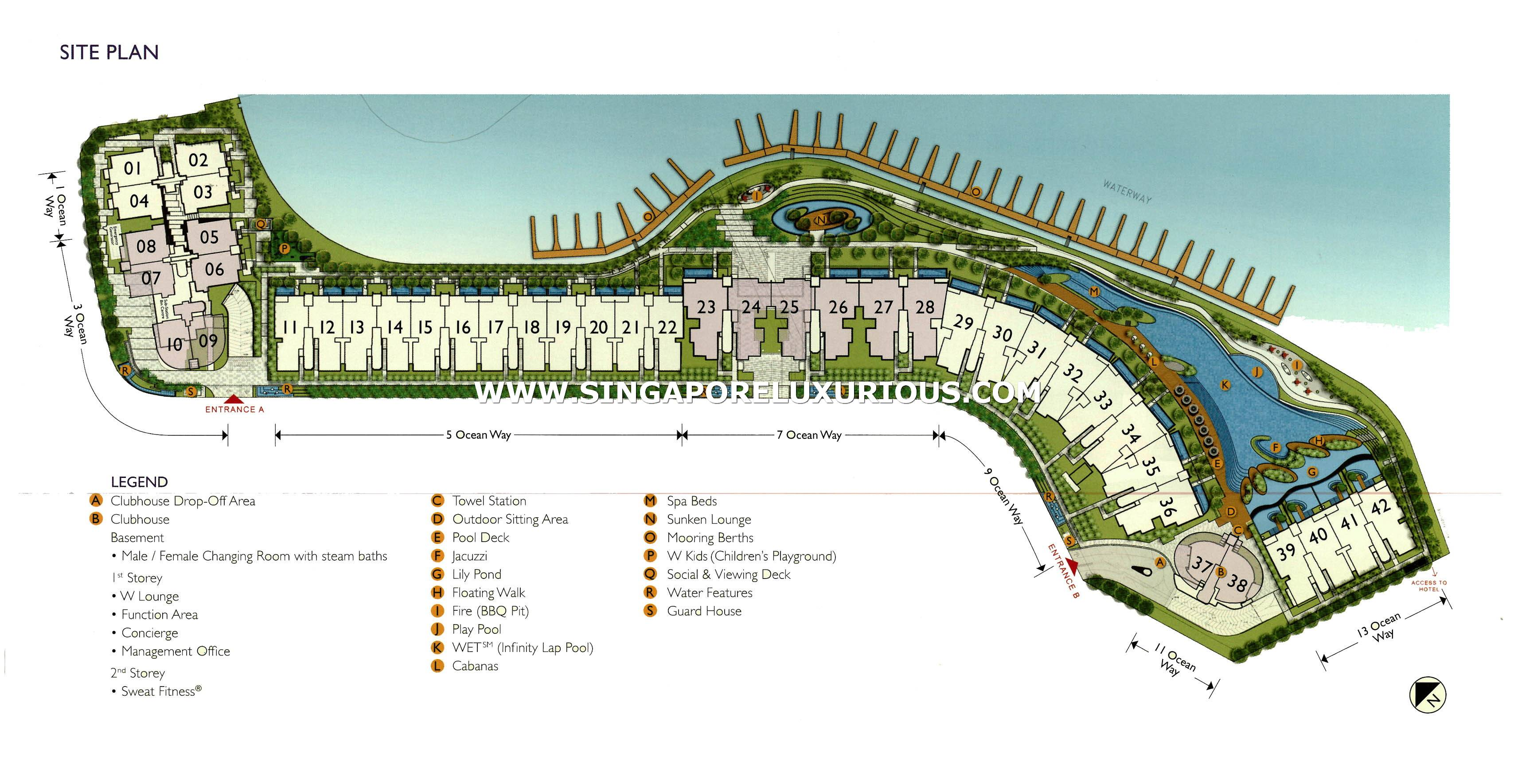 Seascape Sentosa Cove Site Amp Floor Plan Singapore