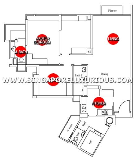 Paterson Residence Site Amp Floor Plan Singapore Luxurious