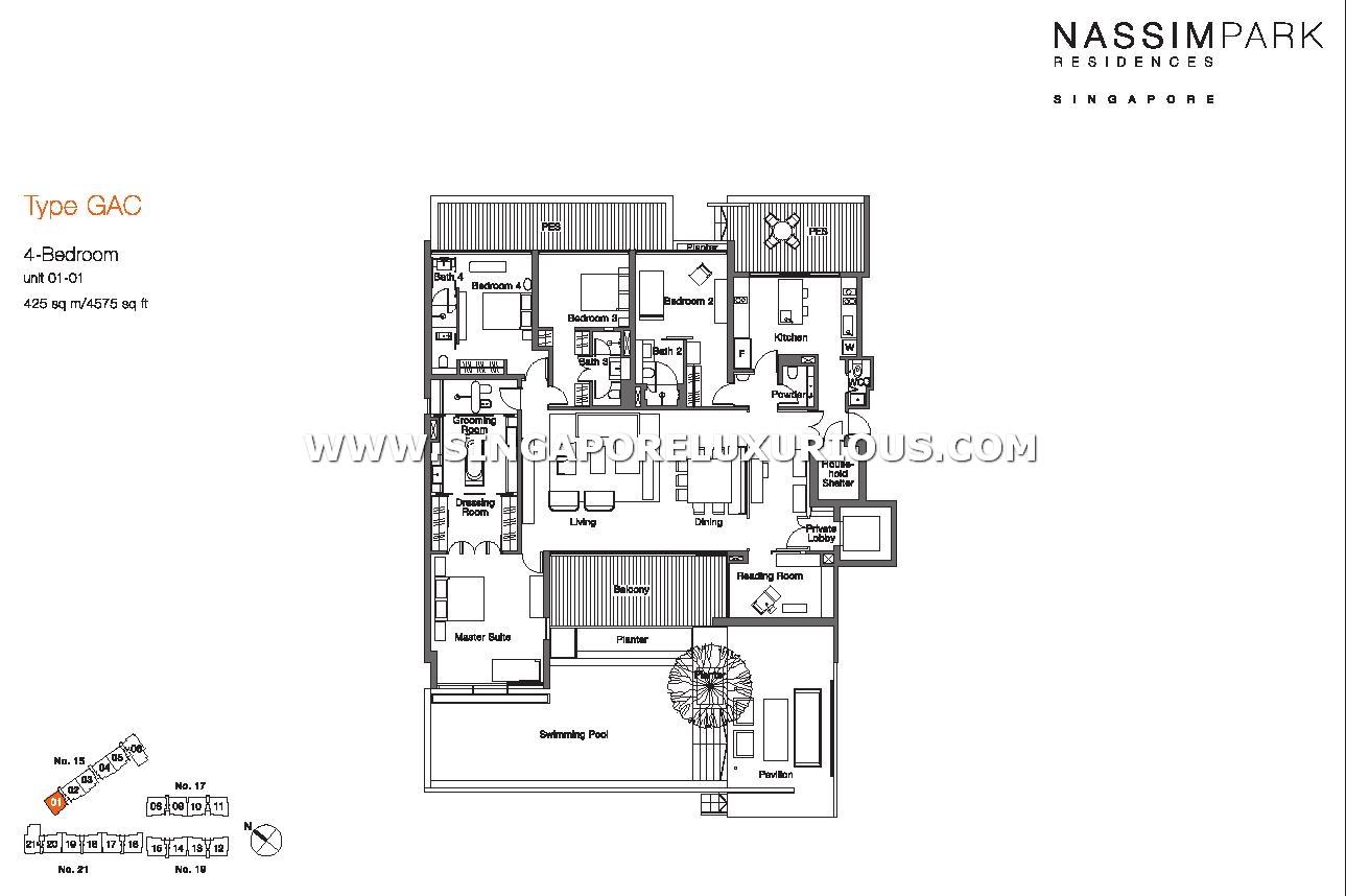 Nassim Park Residences Site Amp Floor Plan Singapore