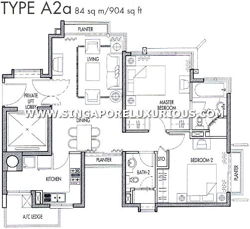 Caribbean Keppel Bay Site Amp Floor Plan Singapore Luxurious Property