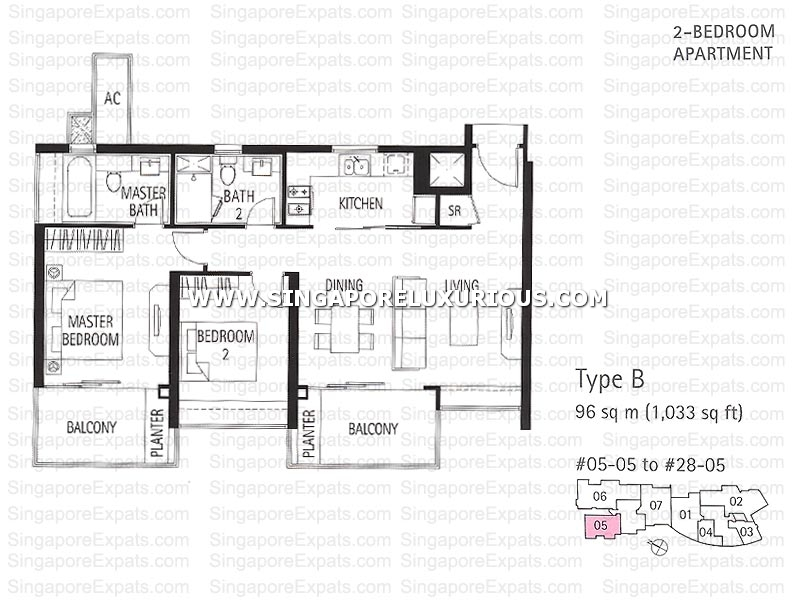 Tribeca By The Waterfront Site Amp Floor Plan Singapore