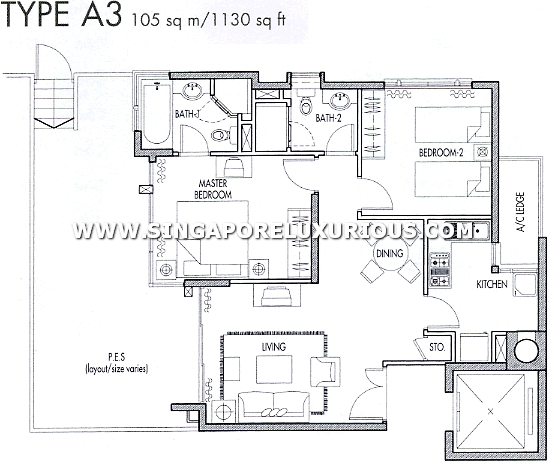 Caribbean Keppel Bay Site Amp Floor Plan Singapore