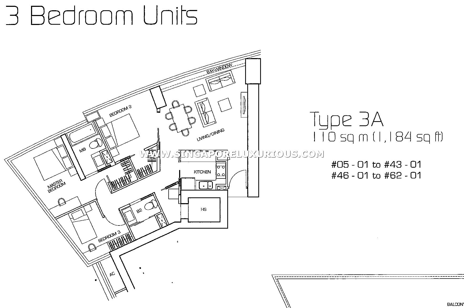 The Sail Marina Bay Site Amp Floor Plan Singapore