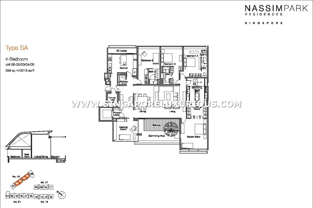 Nassim Park Residences Site Amp Floor Plan Singapore