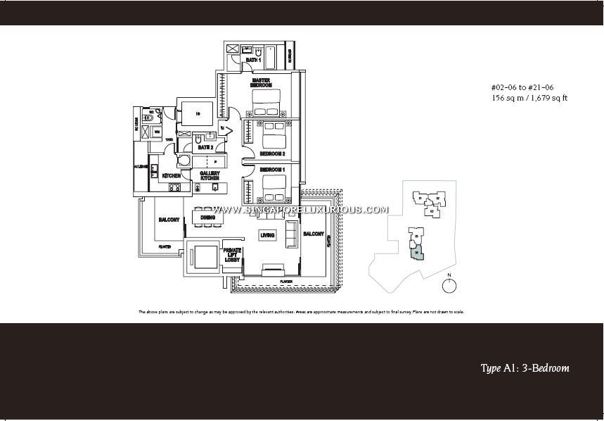 Paterson Suites Site Amp Floor Plan Singapore Luxurious