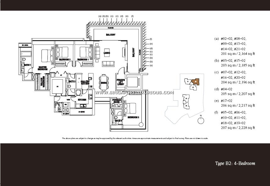 Paterson Suites Site Amp Floor Plan Singapore Luxurious