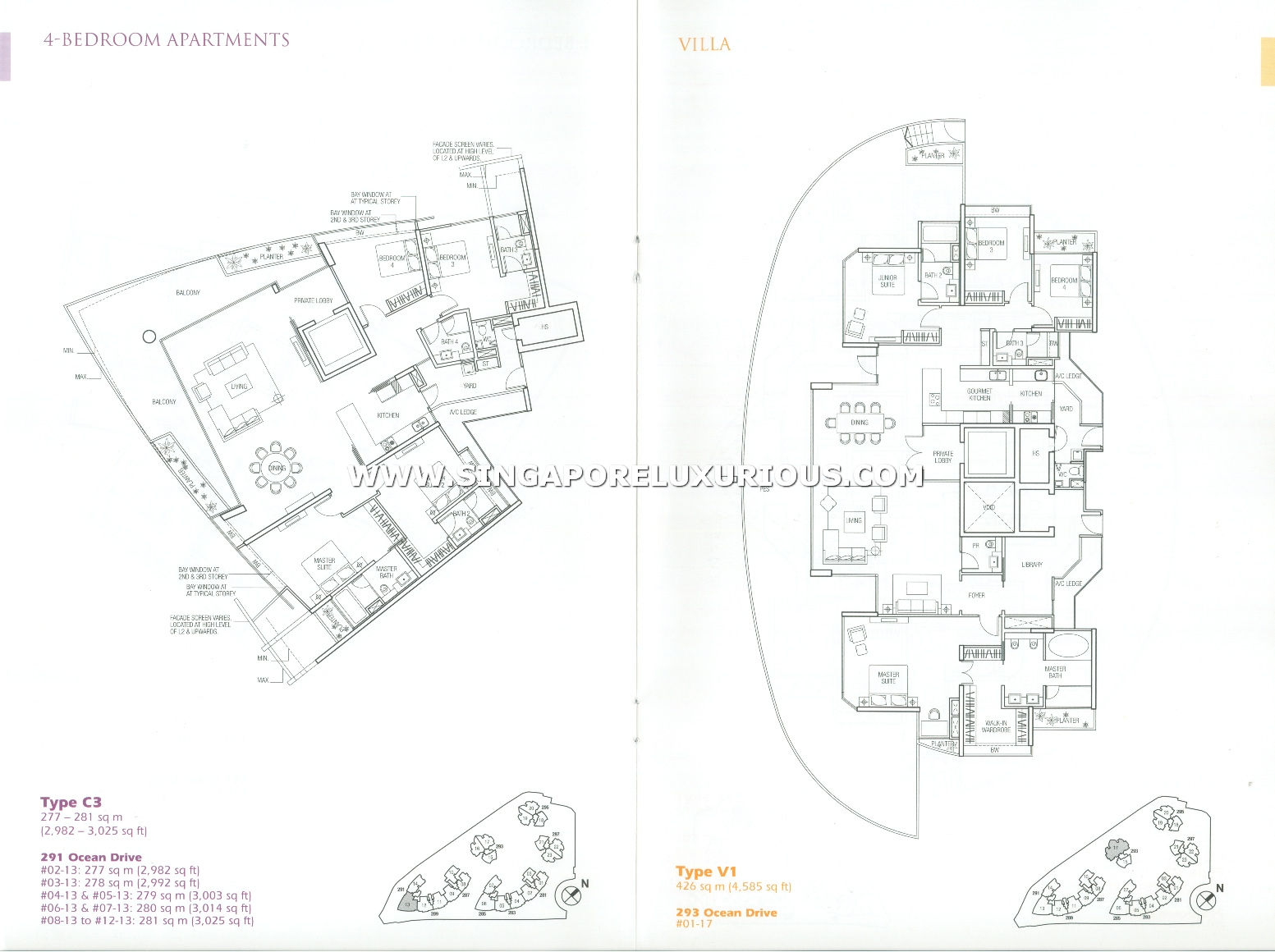 the oceanfront sentosa cove site floor plan singapore luxurious Sentosa Sinapore share this