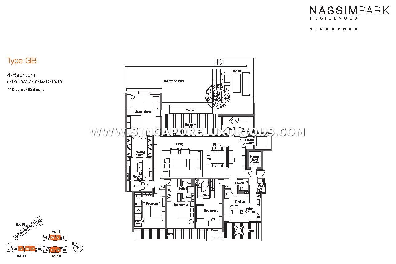 Nassim Park Residences Site Amp Floor Plan Singapore Luxurious Property