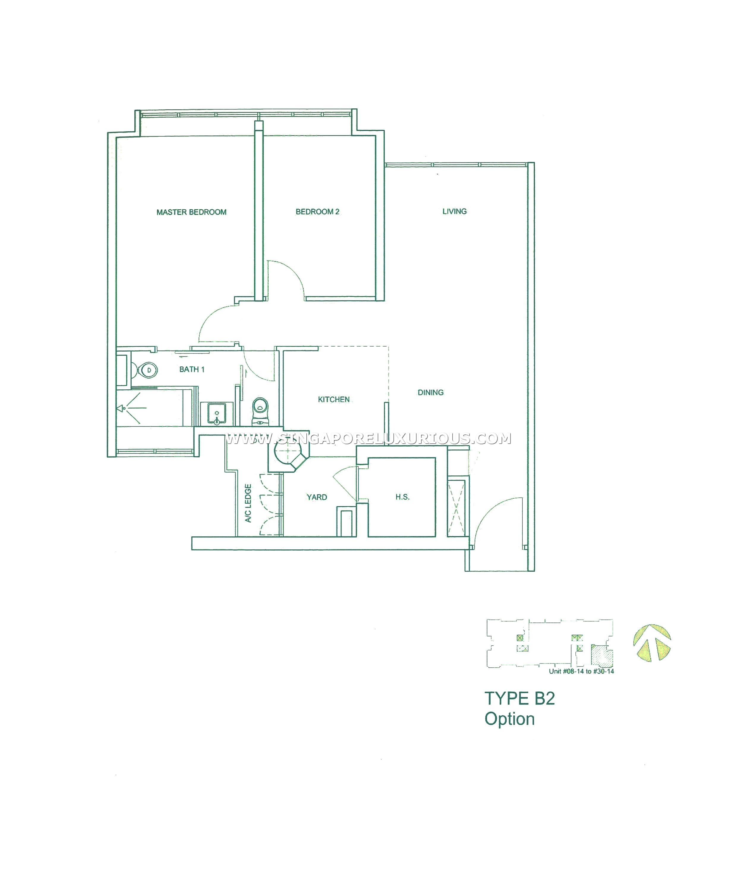 Icon Site Amp Floor Plan Singapore Luxurious Property