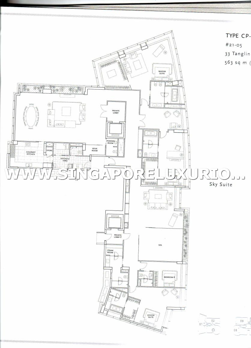 St Regis Residences Site Amp Floor Plan Singapore