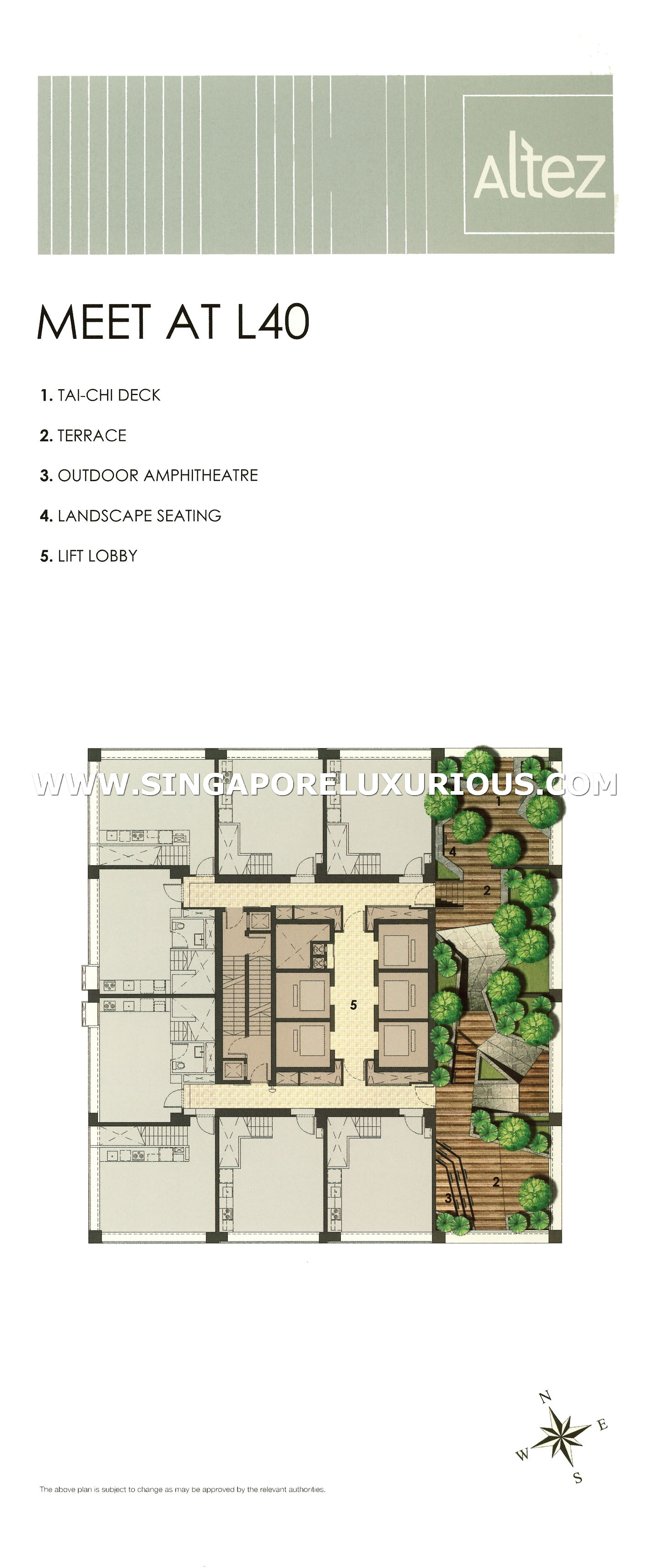 Altez Site Amp Floor Plan Singapore Luxurious Property