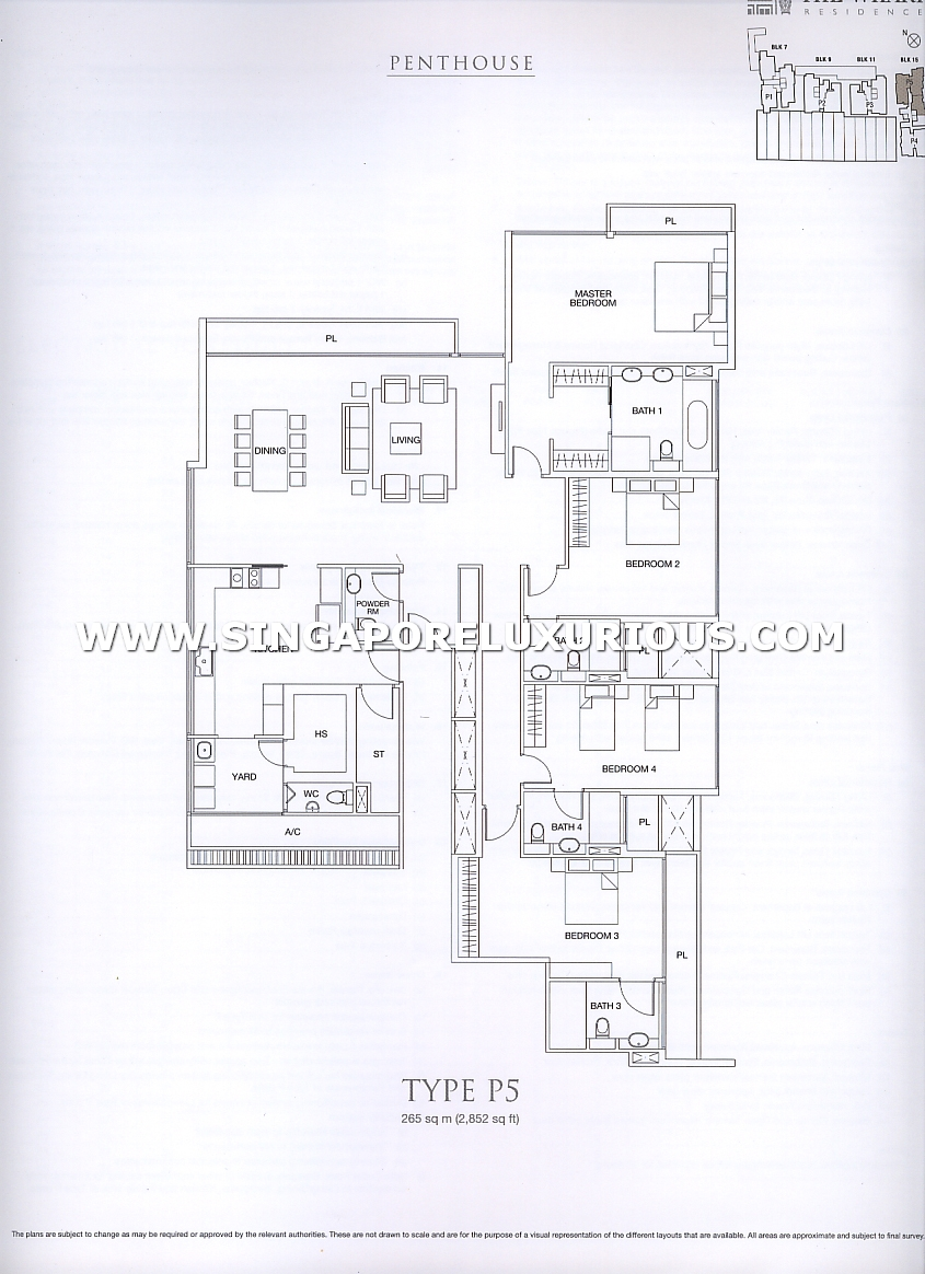 The Wharf Residences Site Amp Floor Plan Singapore
