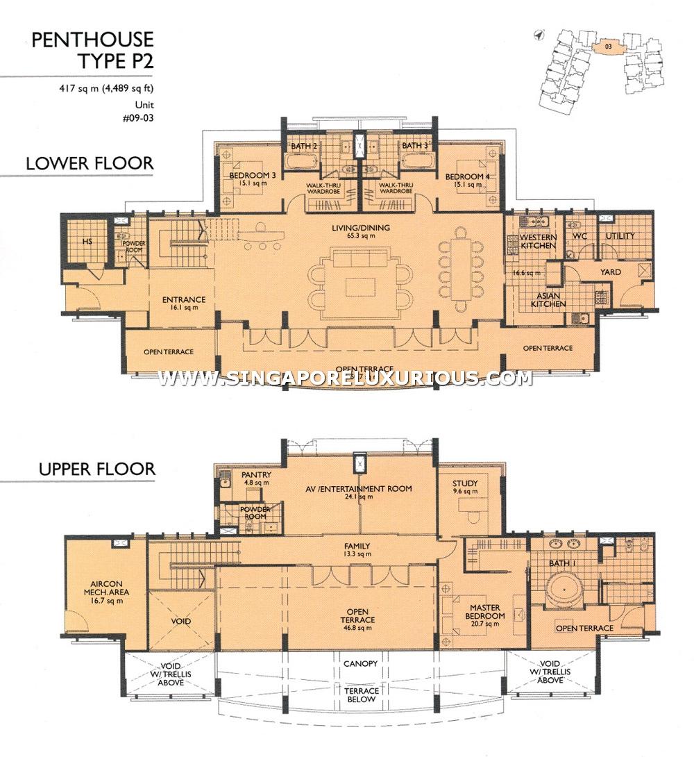 The Pier Site Amp Floor Plan Singapore Luxurious Property