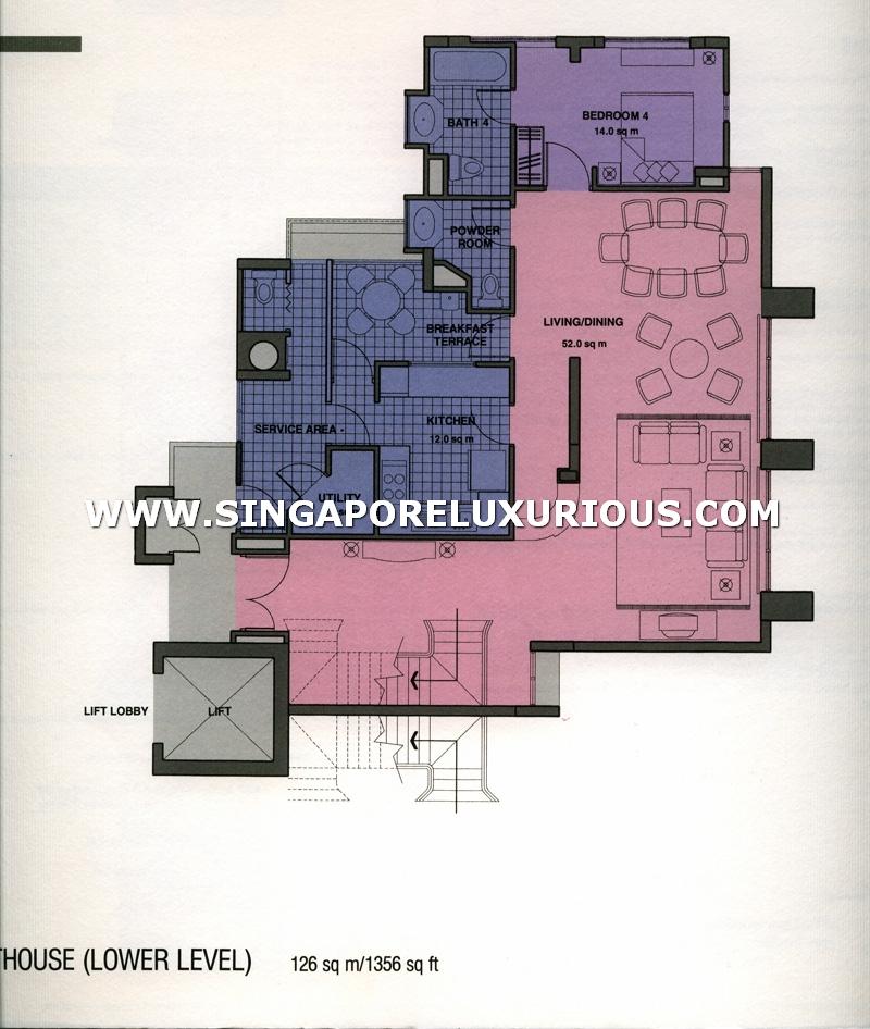 Hdb Commercial Property Floor Plan