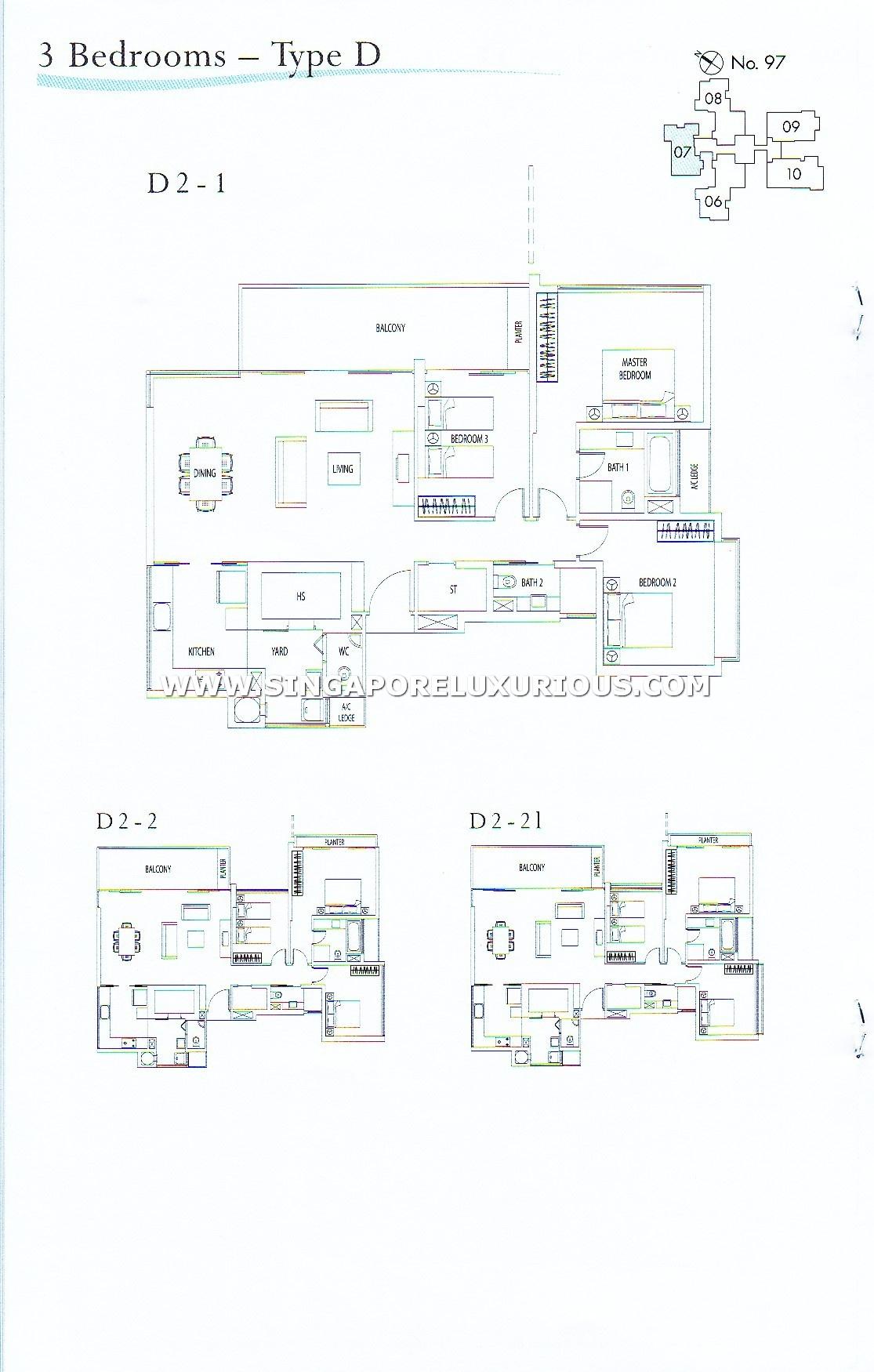 Rivergate Site Amp Floor Plan Singapore Luxurious Property