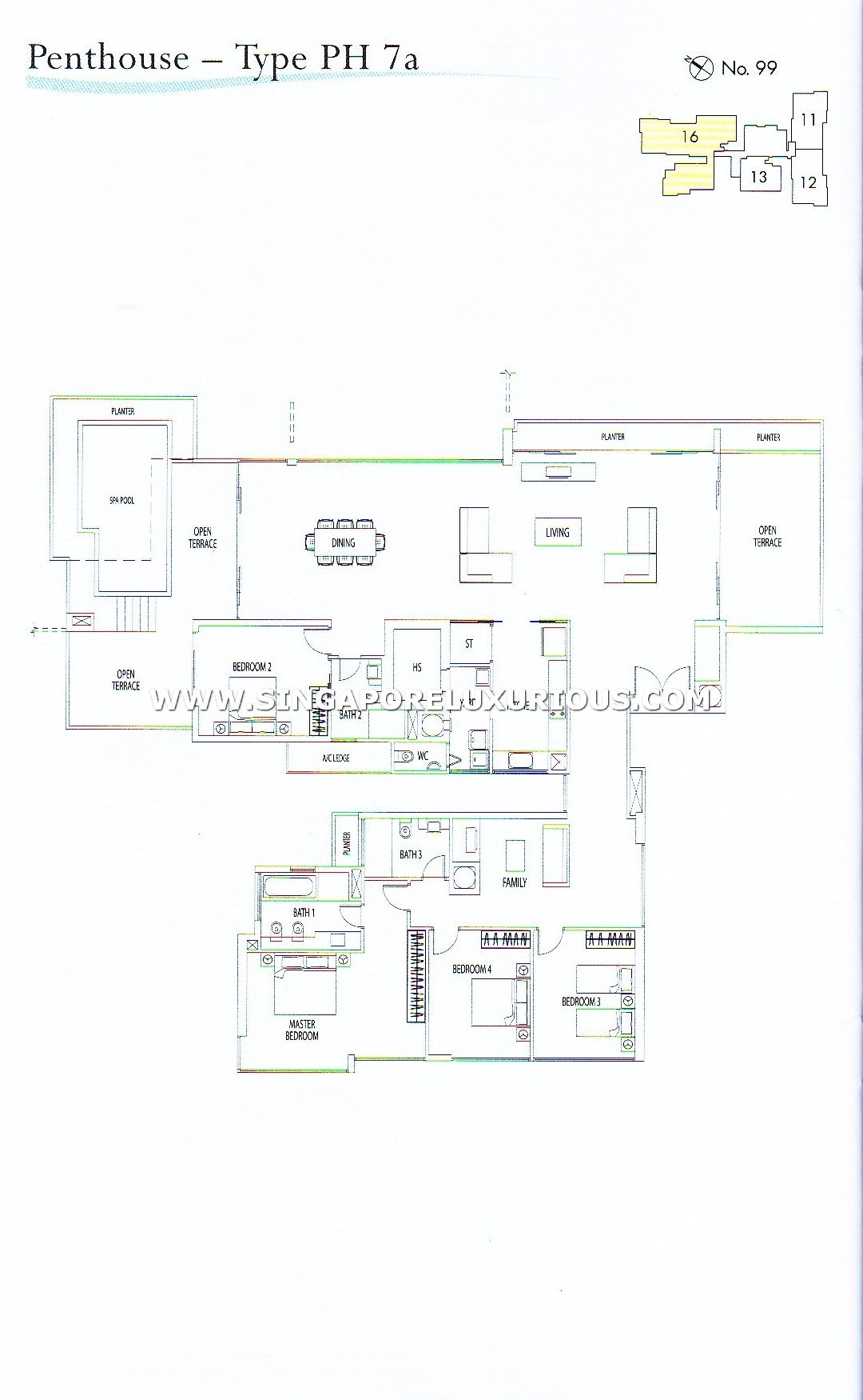 Rivergate Site Amp Floor Plan Singapore Luxurious Property