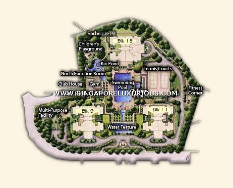 Ardmore Park Site Floor Plan Singapore Luxurious Property