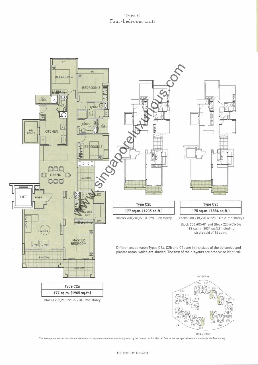 The Berth By The Cove Site Amp Floor Plan Singapore