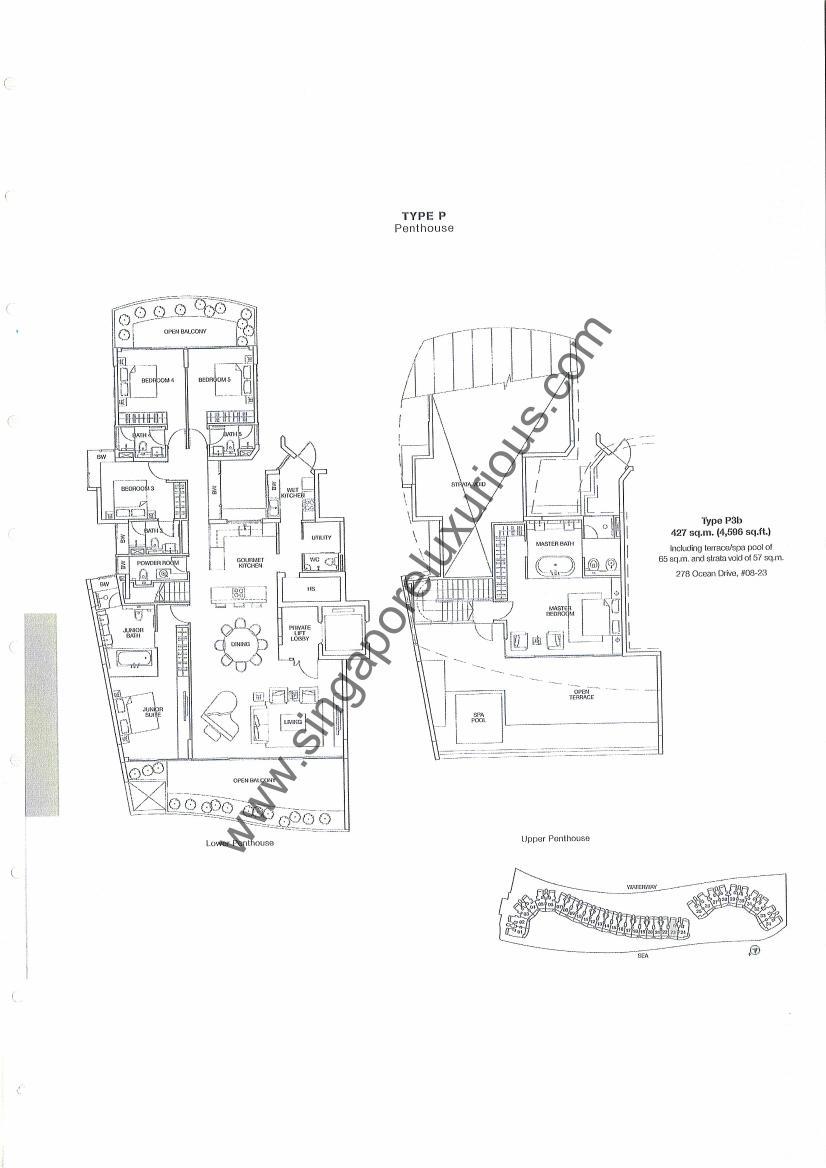 Coast Sentosa Cove Site Amp Floor Plan Singapore