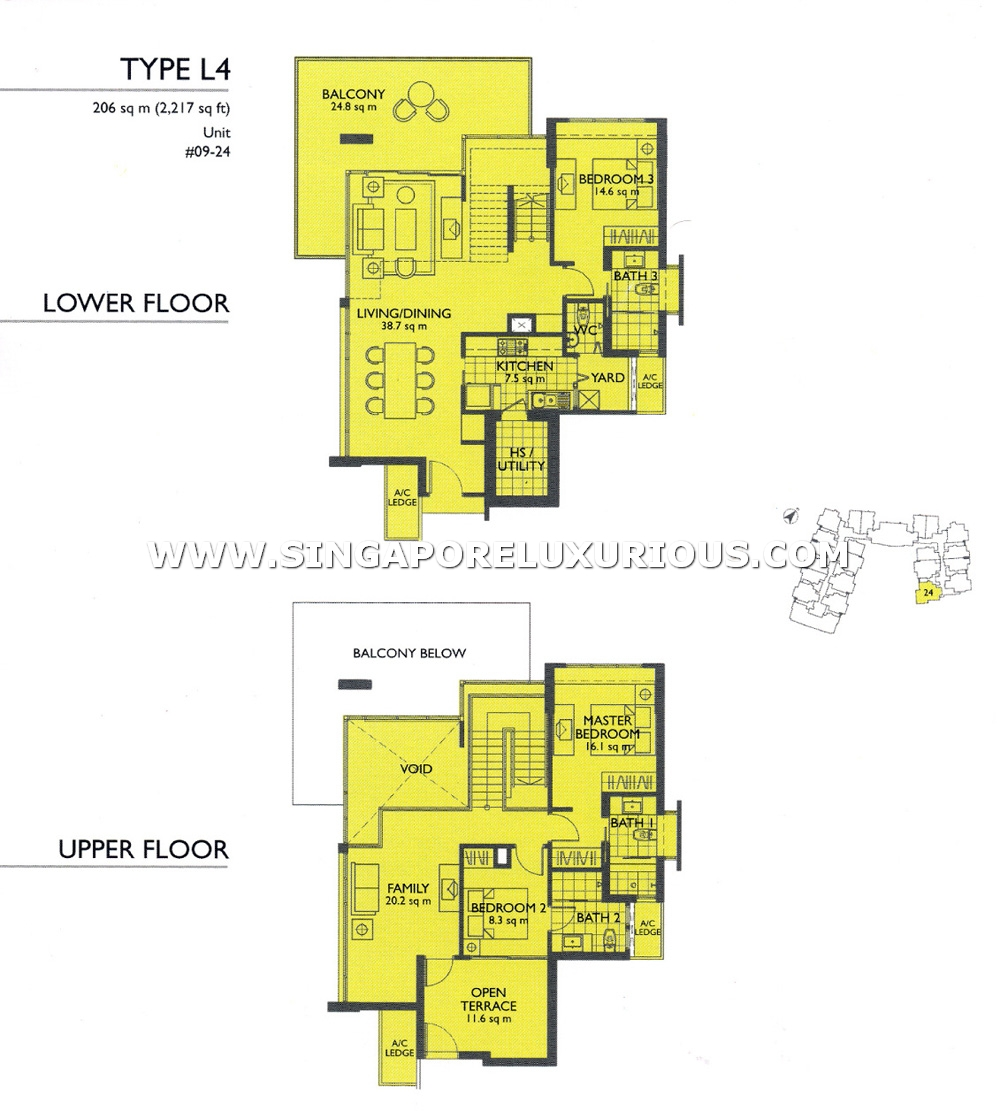The Pier Site Amp Floor Plan Singapore Luxurious Property