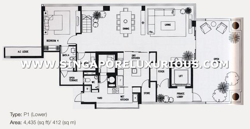 The Grange Site Amp Floor Plan Singapore Luxurious Property